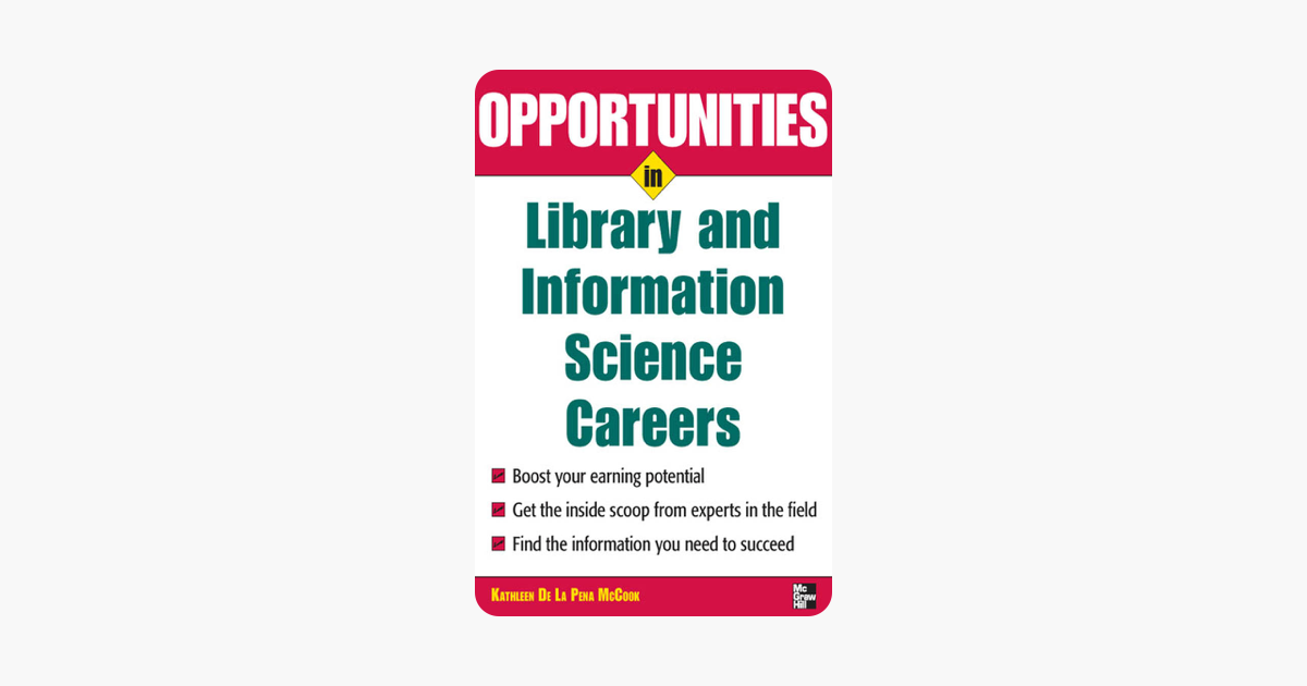 ‎Opportunities in Library and Information Science