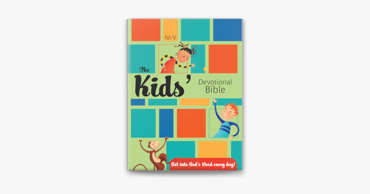 NIrV, The Kid's Devotional Bible, eBook - ZonderKidz