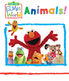 Elmo's World: Animals (Sesame Street) book