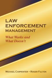 Law Enforcement Management book