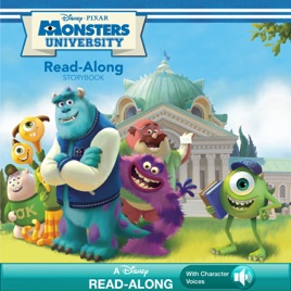Monsters University Read Along Storybook
