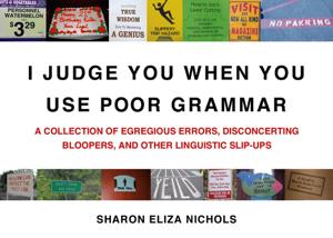 I Judge You When You Use Poor Grammar Capa de livro