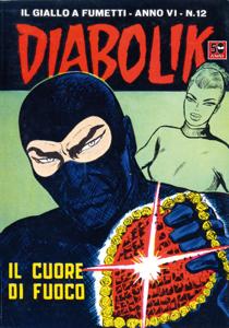 DIABOLIK (88) Copertina del libro