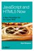 Kyle Simpson - JavaScript and HTML5 Now artwork