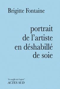 Portrait de l'artiste en déshabillé de soie La couverture du livre martien