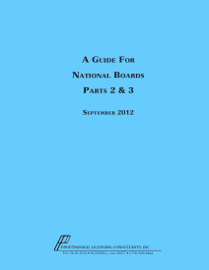A Guide for National Boards Parts 2 & 3