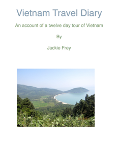 Vietnam Travel Diary Book Review
