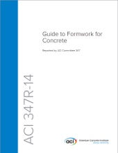 ACI 347R-14: Guide To Formwork For Concrete