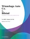 Winnebago Auto Co V Bilstad