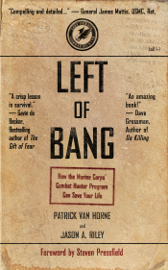 Left of Bang book