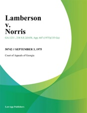 Download and Read Online Lamberson v. Norris
