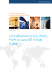 Infrastructure Productivity: How To Save $1 Trillion A Year