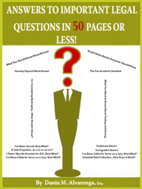 Answers to Important Legal Questions In 5... book