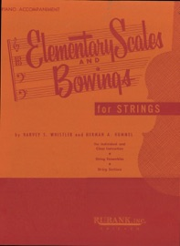 ELEMENTARY SCALES AND BOWINGS (MUSIC INSTRUCTION)