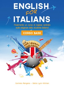Corso di inglese, English for Italians Corso Base Book Cover