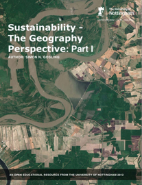 Sustainability - The Geography Perspective: Part I book