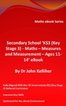 Secondary School KS3 Key Stage 3  Maths  Measures And Measurement  Ages 11-14 EBook