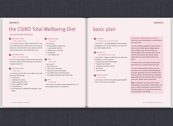 Csiro Diet Book