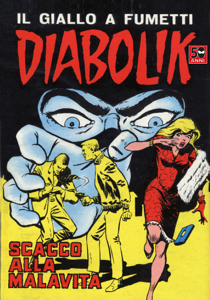 DIABOLIK #36 Libro Cover