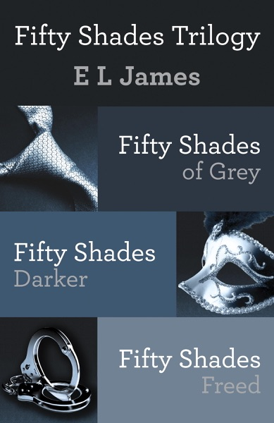 Fifty Shades Trilogy Bundle - E L James book cover