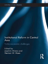 Institutional Reform In Central Asia