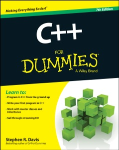 C++ For Dummies Book Cover