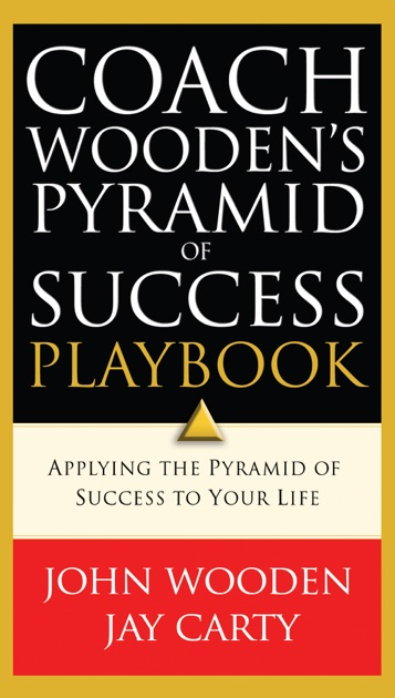 Coach Woodens Pyramid Of Success Playbook By John Wooden On Apple Books