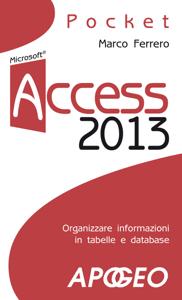 Access 2013 Copertina del libro