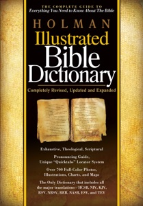 Holman Illustrated Bible Dictionary Book Cover