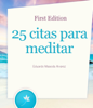 Eduardo Maseda Alvarez - 25 citas para meditar grafismos