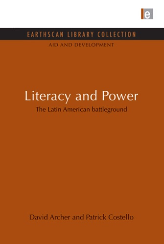 David Archer & Patrick Costello - Literacy and Power