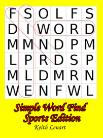 Simple Word Find book