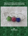 Adjustable Wired Ring With Sparkling Bead  Wire  Jewelry Making Tutorial Series T148