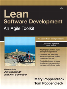Lean Software Development Boekomslag