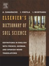 Elseviers Dictionary Of Soil Science
