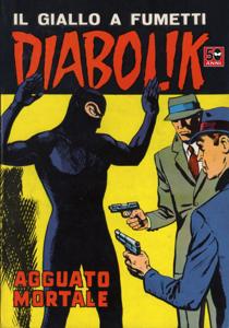 DIABOLIK #37 Libro Cover