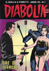 DIABOLIK (103) Libro Cover