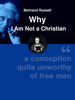 Bertrand Russell - Why I Am Not a Christian artwork