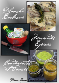 Plancha, Barbecue : Marinades, Epices, Condiments et Sauces