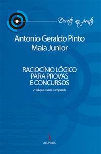 Raciocínio lógico para provas e concursos Book Cover