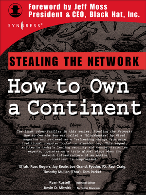 Stealing the Network - Ryan Russell & Kevin D. Mitnick book