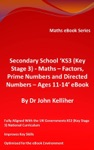 Secondary School KS3 Key Stage 3 - Maths  Factors Prime Numbers And Directed Numbers - Ages 11-14 EBook