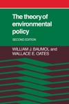 The Theory Of Environmental Policy Second Edition