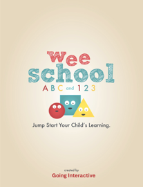 Wee School ABC and 123 book