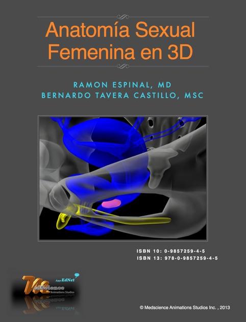 Anatomía Sexual Femenina en 3D por Bernardo Tavera Castillo en iBooks