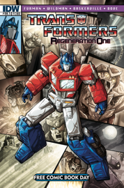 Transformers: Regeneration One #80.5 book