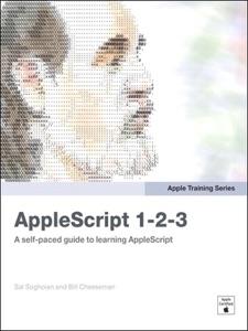 AppleScript 1-2-3 Book Cover