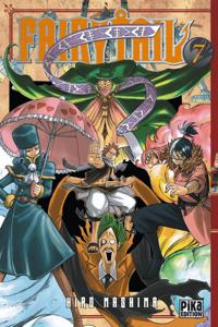 Fairy Tail T07 La couverture du livre martien