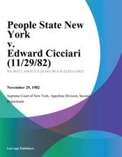 Download People State New York v. Edward Cicciari