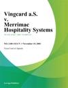 Vingcard AS V Merrimac Hospitality Systems